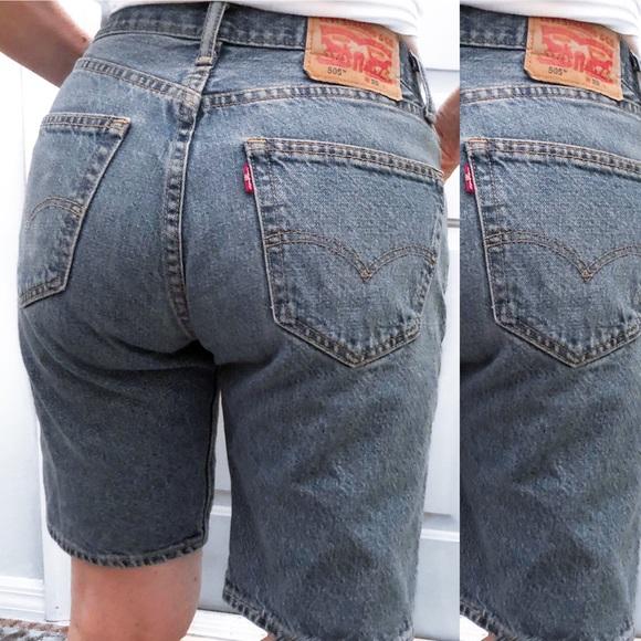 33cb711d Levi's Shorts | Levi Vintage Rare Biker Style Denim | Poshmark